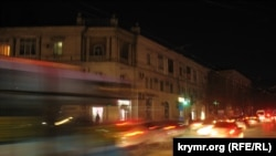 Power blackout in the Crimea city of Sevastopol