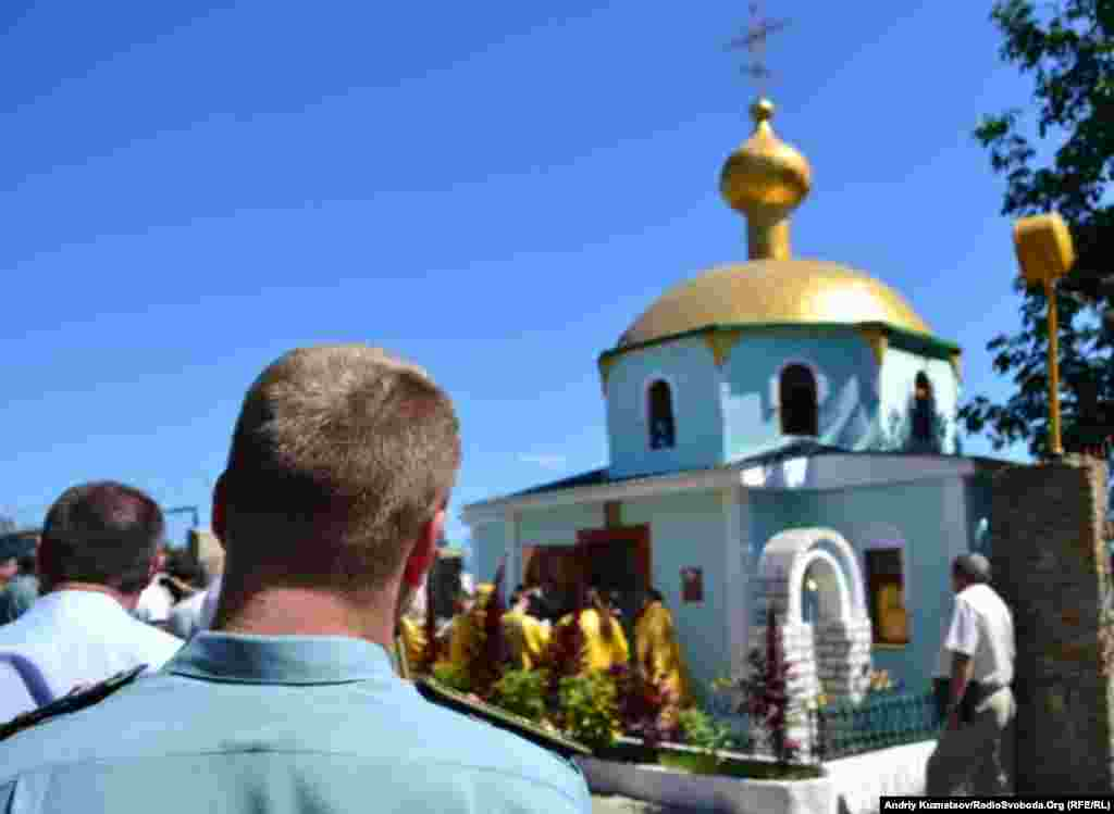 Богослужіння, присвячене відкриттю церкви.
