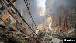Рамади шаары, Ирак. Август. 2014-ж.