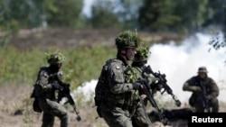 Latviyada NATO təlimi, arxiv fotosu