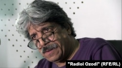 Таджикский режиссер Барзу Абдураззоков.