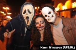 Yerevanda Halloween, 31 oktyabr 2012