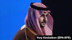 Saudi Arabian Deputy Defense Minister Prince Khalid bin Salman.