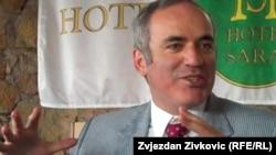 Garry Kasparov pictured here in 2010