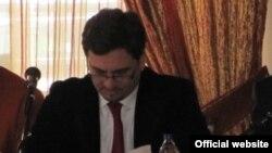 Градоначалникот на Прилеп Марјан Ристески.