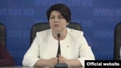 Fosta ministră de finanțe Natalia-Gavriliță Chișinău 2019
