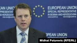 Новоименуваниот специјален претставник на ЕУ во Приштина, Самуел Жбогар