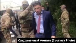Задержание Сергея Фургала
