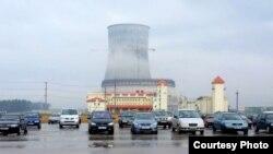 Будаўніцтва БелАЭС. Фота: Тацяна Каліноўская