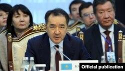 Премьер-министр Казахстана Бакытжан Сагинтаев.