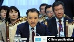 Прем'єр-міністр Казахстану Бакитжан Сагінтаєв.