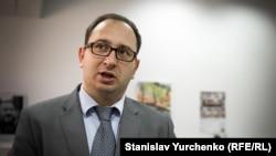 Ukraine, Kyiv - Russian lawyer Nikolay Polozov. 28Sep2017