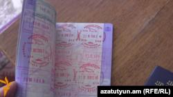 Грузия паспорты (Көрнекі сурет).