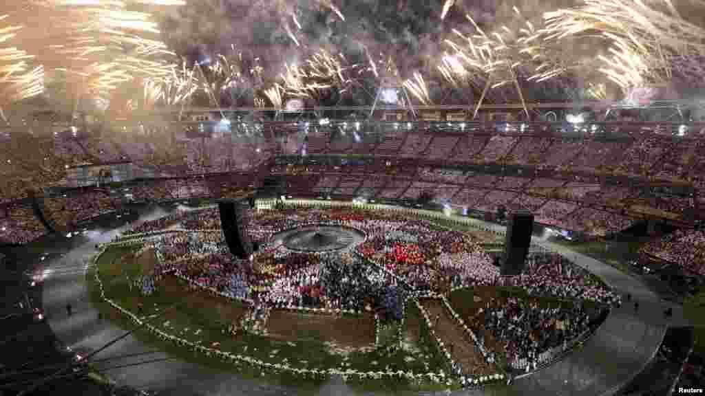 Церемония открытия Игр в Лондоне