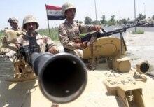 Iraqi soldiers in Baghdad (epa)