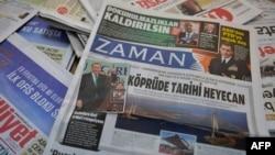 """Zaman"" gazetiniň 6-njy martda neşir edilen sany."