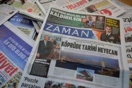 """Газета """"Заман"""", когда-то считавшаяся главным оппозиционным изданием Турции, теперь ежедневно восхваляет Реджепа Эрдогана"""