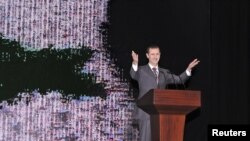 Претседателот на Сирија Башар ал Асад.