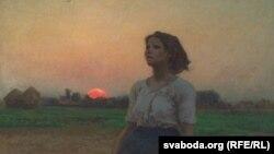 Жуль Брэтон, «Песьня жаўранка» (1884).