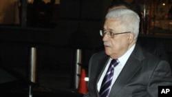 Палестина жетекшісі Махмуд Аббас Нью-Йорктегі қонақ үйіне тоқтады. 19 қыркүйек. 2011