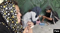 Drug addiction in Iran - Undated