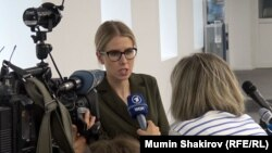 Опозициската руска политичарка Љубов Собол