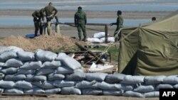 Pamje e forcave ruse afër Krimesë