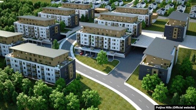 Budući izgled naselja Poljine Hills