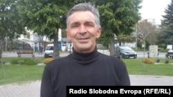 "Зоран Стевоски, претседател на Клуб за работни акции ""Брег на младоста"", Охрид."