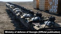 ABŞ istehsalı olan silahlar, arxiv foto
