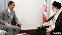 Իրանի գերագույն հոգևոր առաջնորդ այաթոլա Ալի Խամենեի և Սիրիայի նախագահ Բաշար ալ-Ասադ