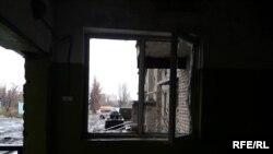Одна из фотографий Авдеевки, сделанная журналистами Радио Донбасс.Реалии во время выездного эфира