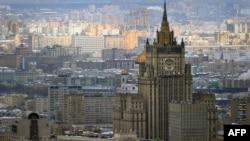 Бинои вазорати умури хориҷии Русия.