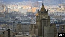 Rusi - Selia e Ministrisë së Punëve të Jashtme të Rusisë në Moskë, (Ilustrim)