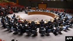 Pamje nga një seancë e Këshillit të Sigurimit të Kombeve të Bashkuara