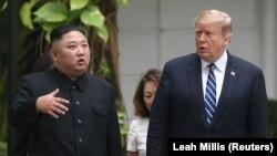 Donald Trump və Kim Jong Un Hanoy, 28 fevral, 2019