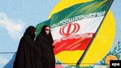 Улицы Тегерана, архивное фото
