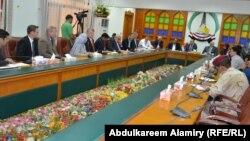إجتماع للحكومة المحلية في البصرة