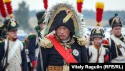Олег Соколов като Наполеон Бонапарт по време на историческа въстановка
