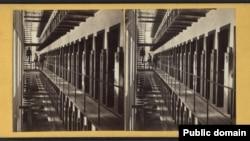 """Тюрьма """"Синг-Синг"""", интерьер. Конец 19 века"""