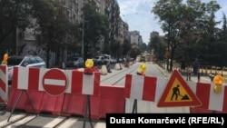 Jedan deo ulica u centru grada je potpuno zatvoren za saobraćaj