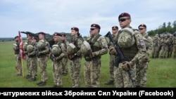 Україну представляє зведена ротно-тактична група 25 окремої повітрянодесантної Дніпропетровської бригади Десантно-штурмових військ ЗCУ