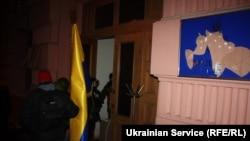 Протестующие захватили здание министерства юстиции Украины. Киев, 27 января 2014 года.