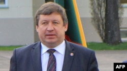 Lithuanian Defense Minister Raimundas Karoblis (file photo)