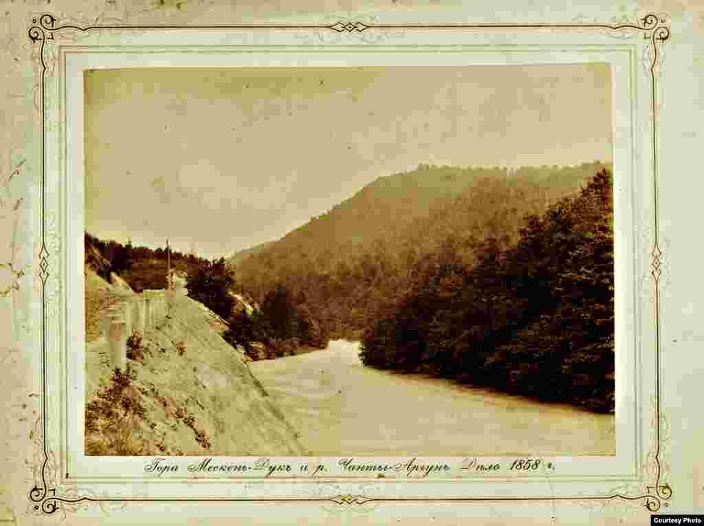 Гора Мескен-Дук и река Чанты-Аргун