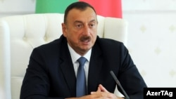 Azerbaijan President Ilham Aliyev has held power since 2003, after succeeding his father.