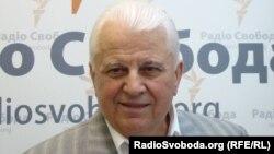 Леонід Кравчук у студії Радіо Свобода, 2010 рік