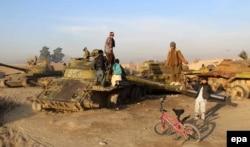 Остатки советской военной техники в Афганистане. 2017 год