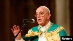 Папа Римський Франциск. Архівне фото