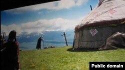 """Кадр из фильма """"Гульбике"""". Иллюстративное фото."""